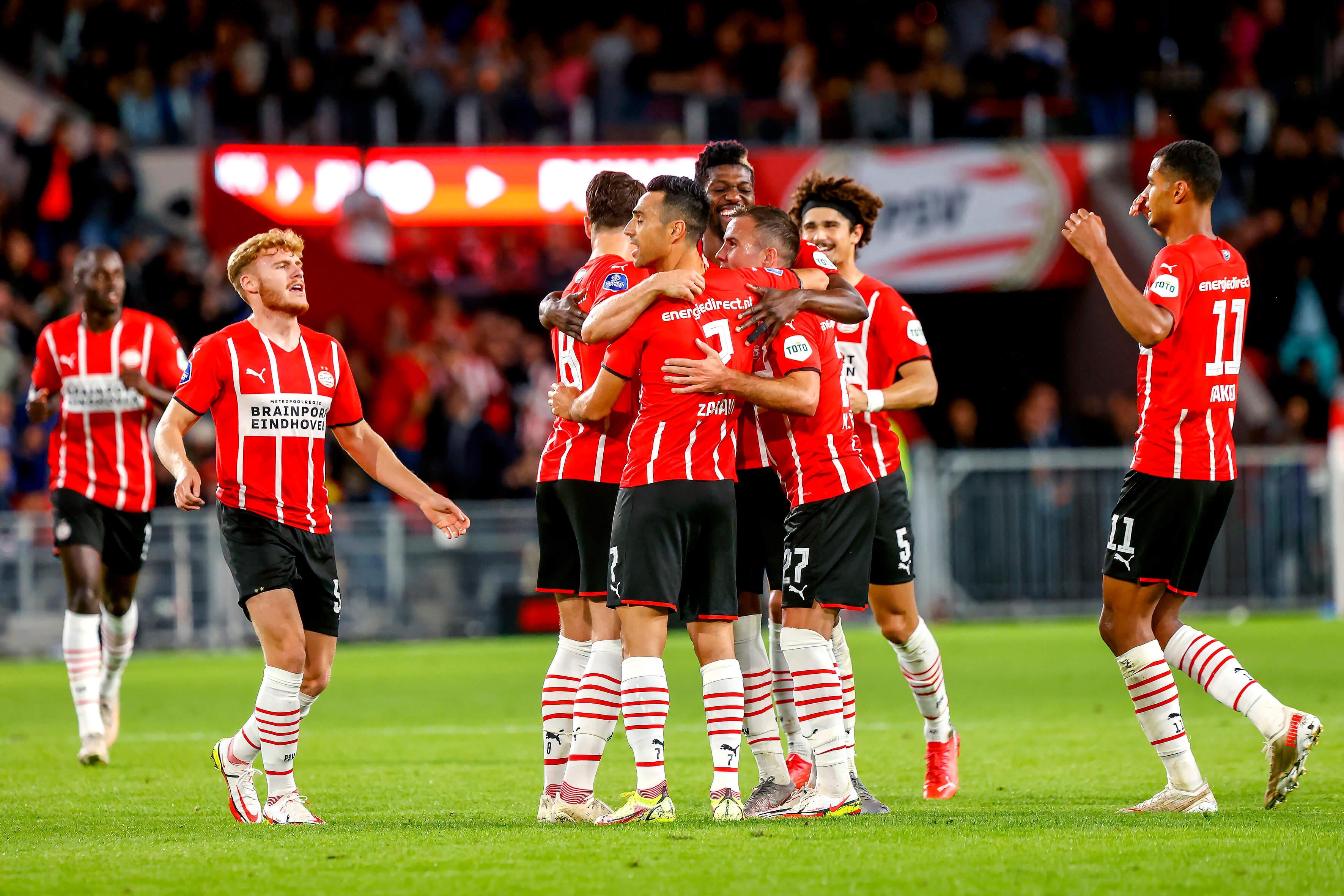 PSV in doelpuntrijk duel te sterk voor FC Groningen; image source: Pro Shots