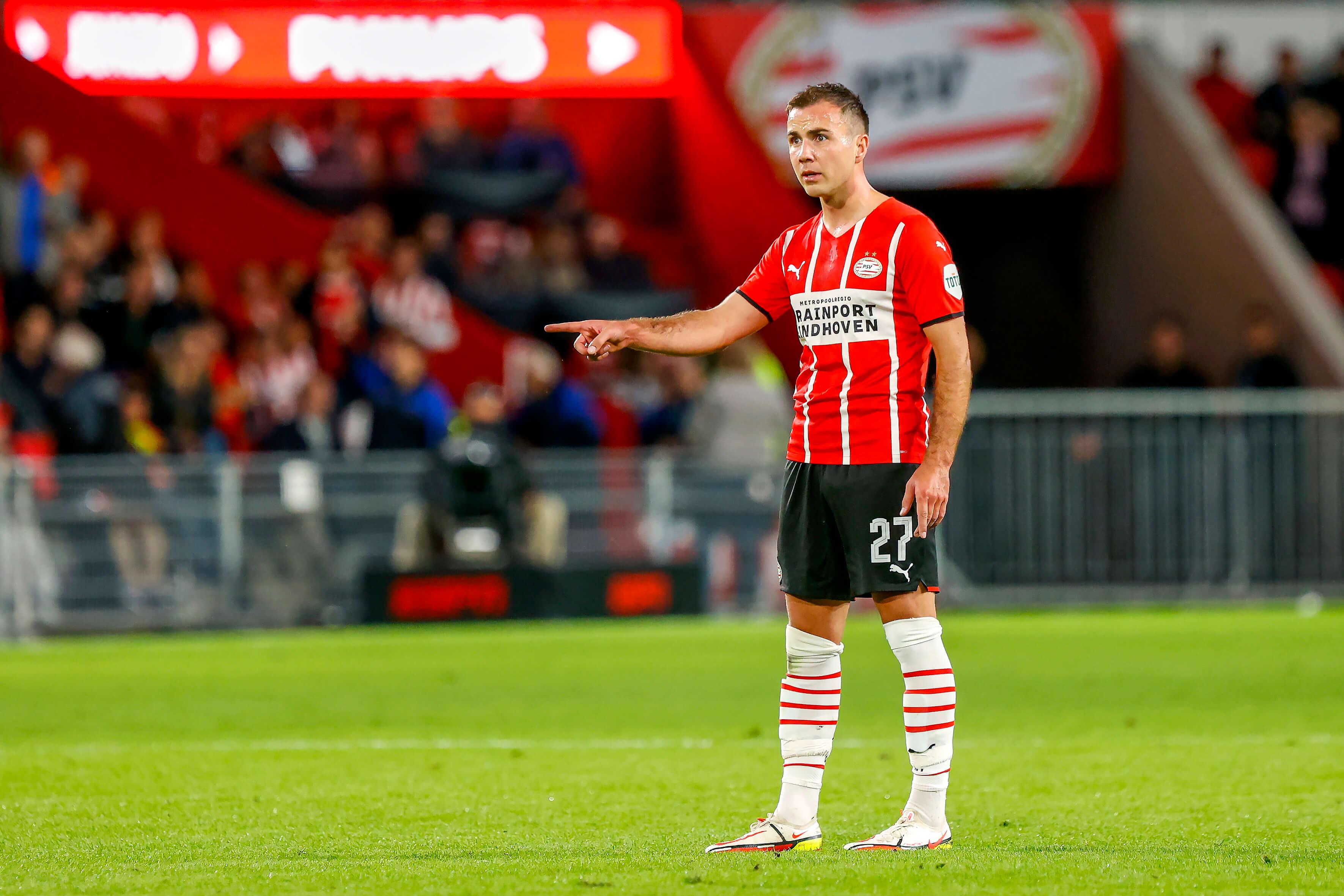"""Mario Götze: """"Mijn prestaties vertellen me dat ik het momenteel heel goed heb bij PSV""""; image source: Pro Shots"""