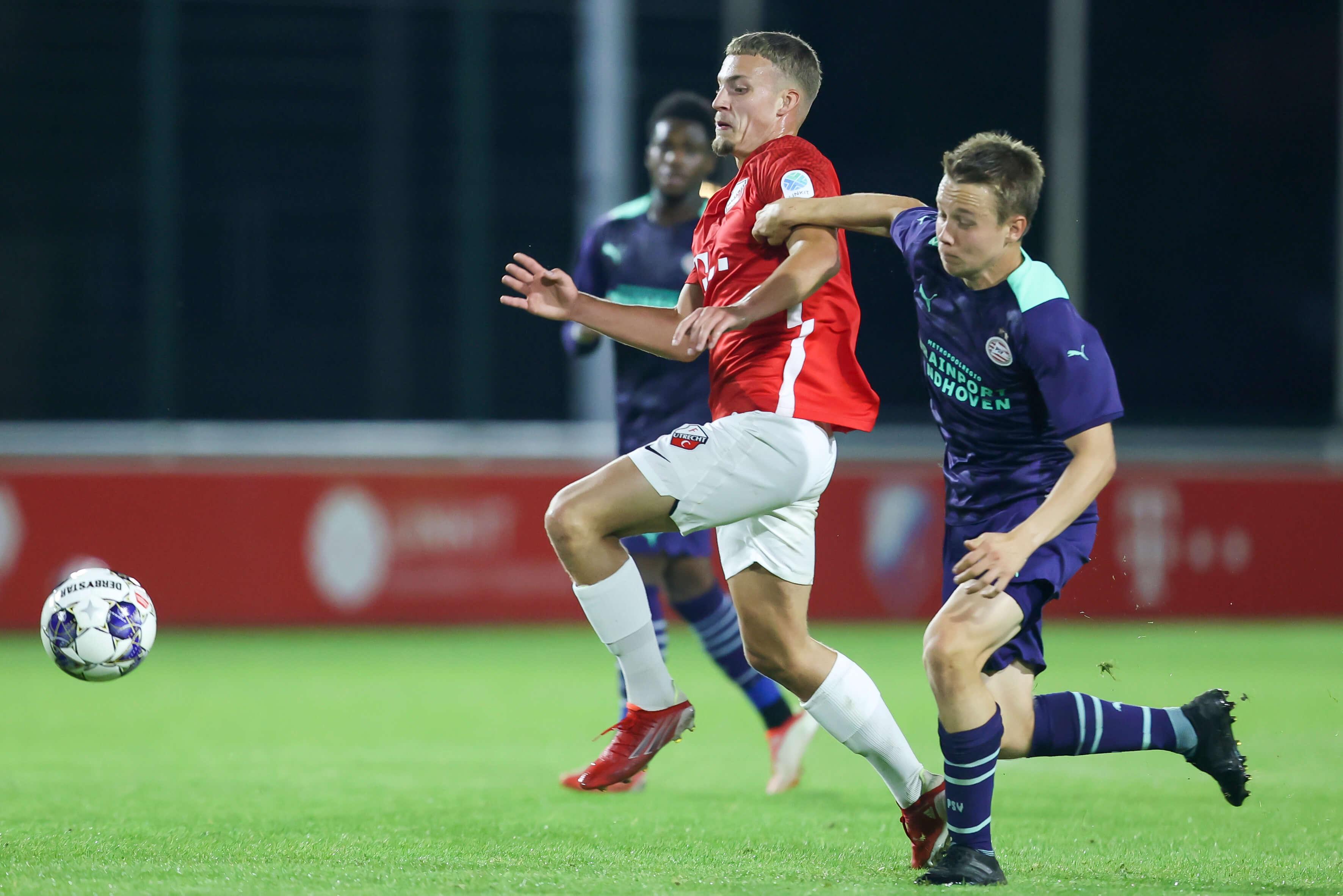 Jong PSV onderuit op bezoek bij Jong FC Utrecht; image source: Pro Shots