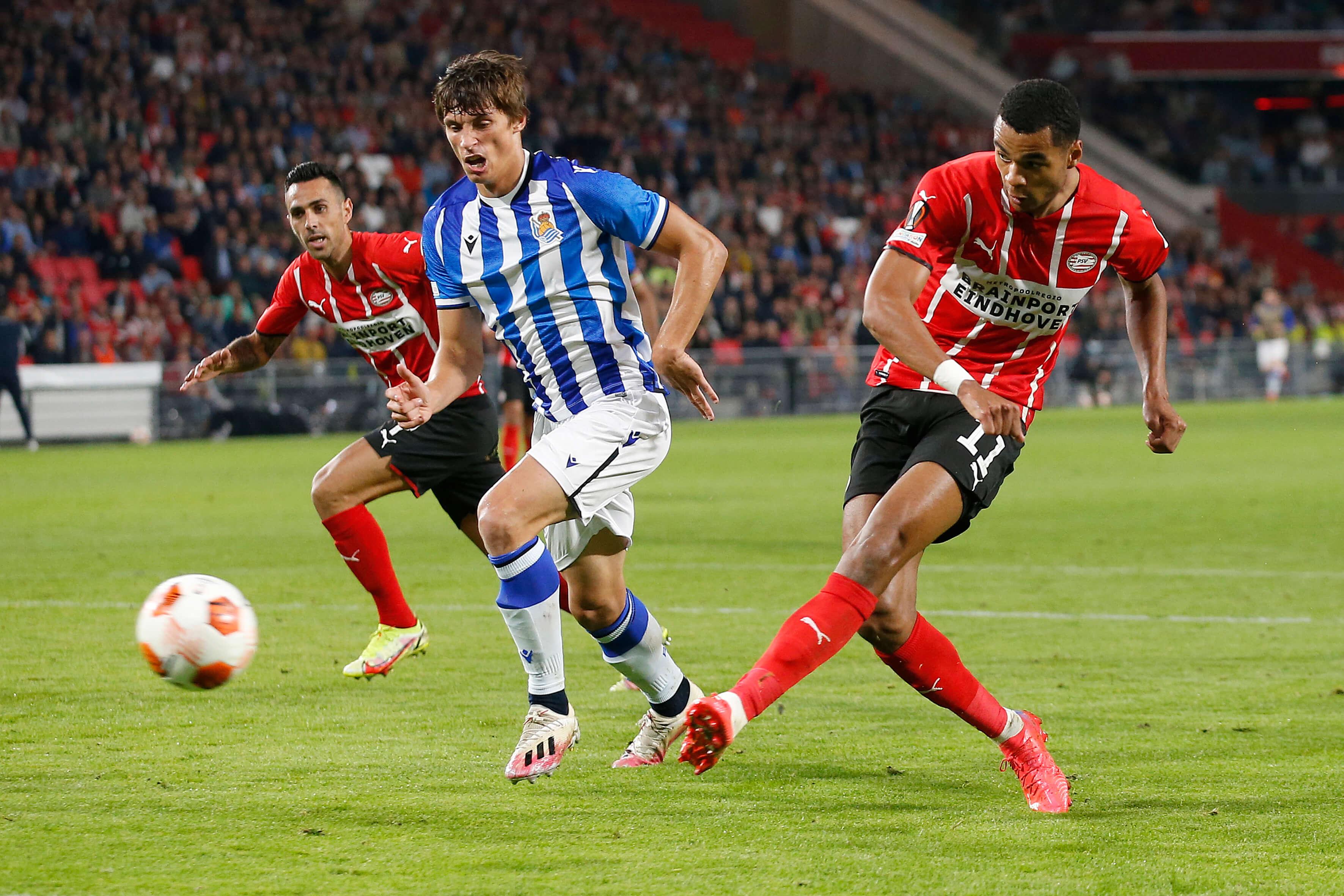 PSV begint groepsfase met gelijkspel tegen Real Sociedad; image source: Pro Shots