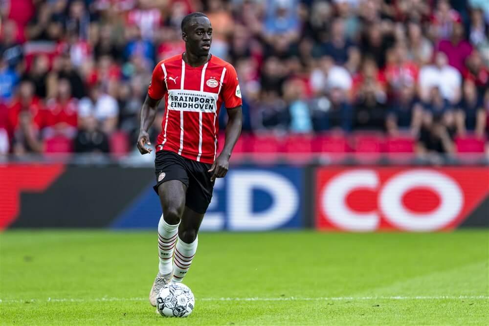 """""""PSV en Jordan Teze naderen akkoord over nieuw contract""""; image source: Pro Shots"""