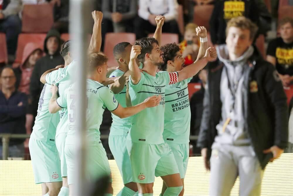 Zwak PSV pakt toch volle buit tegen Go Ahead; image source: Pro Shots