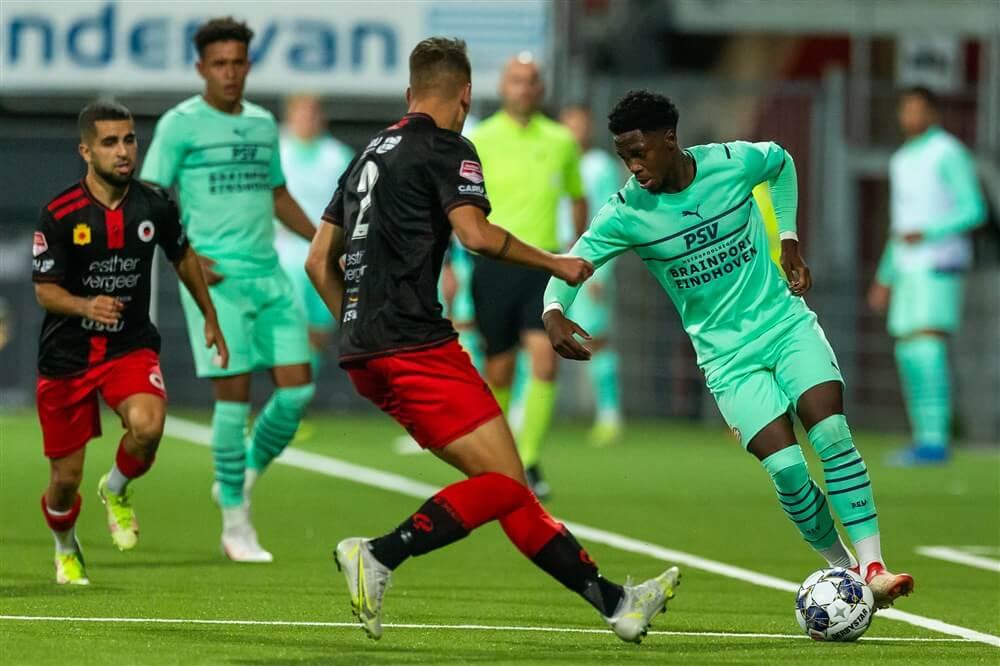 Jong PSV onderuit tegen Excelsior; image source: Pro Shots