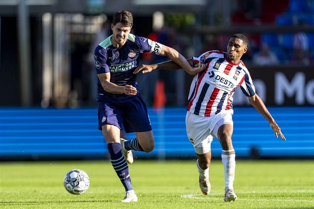 PSV na bizarre blunder onderuit tegen Willem II; image source: Pro Shots
