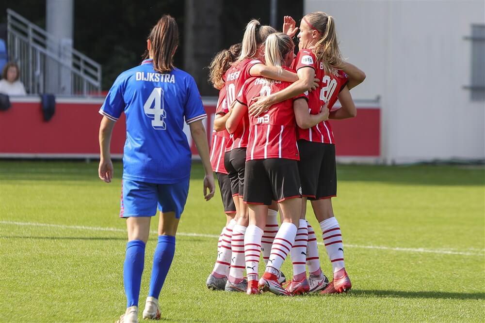 PSV Vrouwen wint ruim van sc Heerenveen; image source: Pro Shots