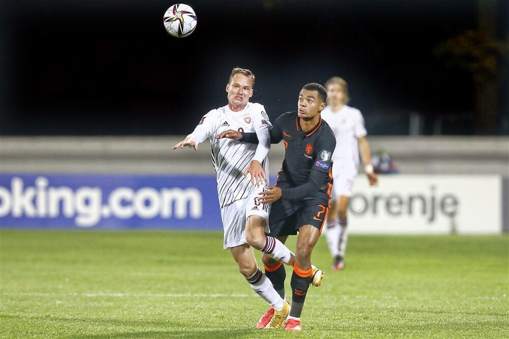Cody Gakpo verlaat Oranje vanwege hersenschudding; image source: Pro Shots