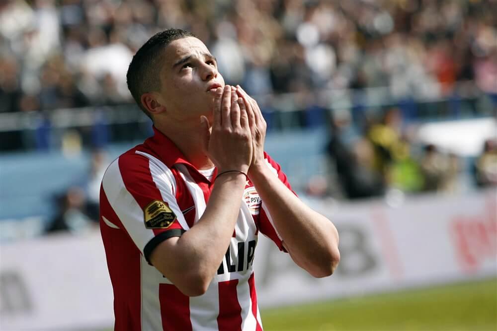 Ibrahim Afellay werkt bij PSV aan herstel; image source: Pro Shots