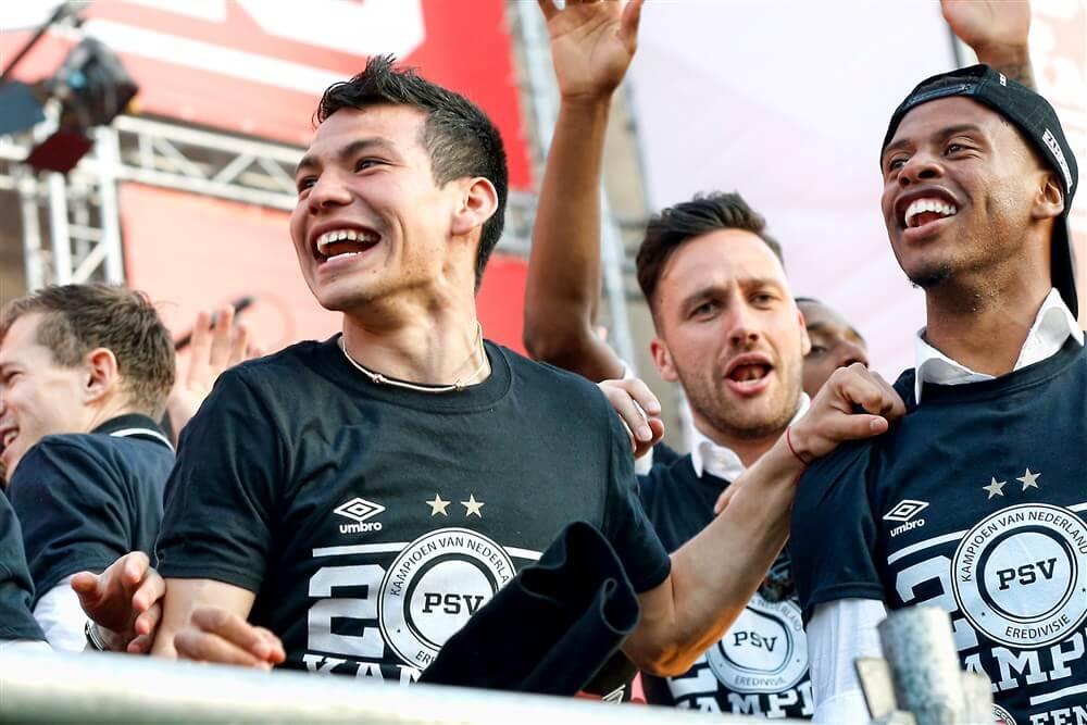 Transfer Hirving Lozano naar Napoli afgerond; image source: Pro Shots