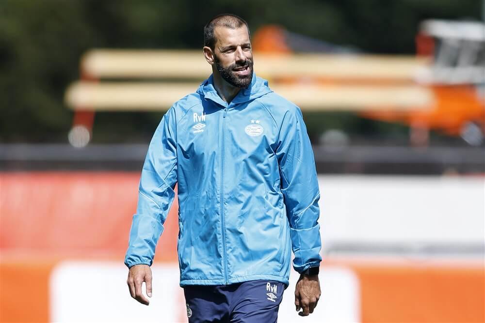 """Ruud van Nistelrooy ook komend seizoen trainer PSV onder 19, André Ooijer assistent""; image source: Pro Shots"