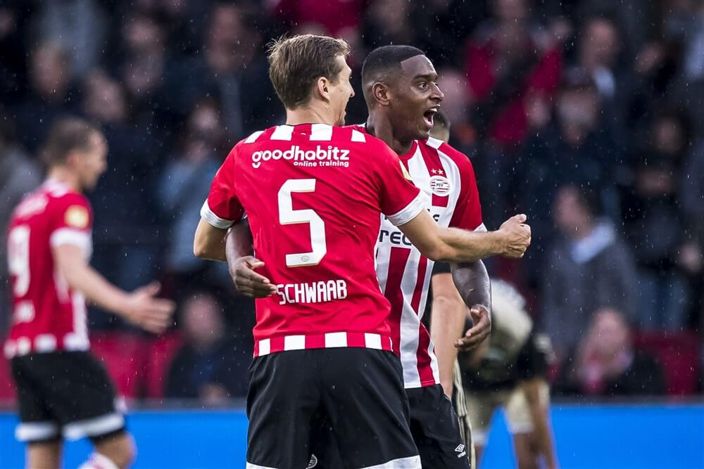 """PSV nog steeds in gesprek met Schwaab, Rosario en Malen over nieuw contract""; image source: Pro Shots"