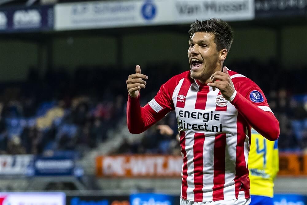 """""""Joël Piroe in belangstelling van Juventus, PSV hoopt op nieuw contract""""; image source: Pro Shots"""