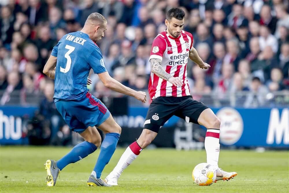 """PSV rekent op transfer Gastón Pereiro""; image source: Pro Shots"