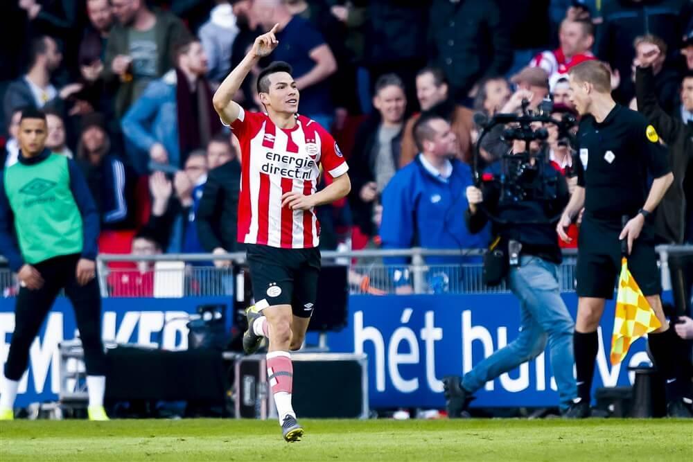 """""""Napoli meldde zich nog niet bij PSV voor transfer Hirving Lozano""""; image source: Pro Shots"""