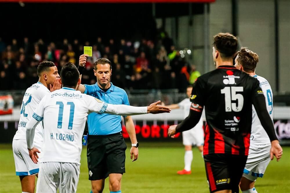 Danny Makkelie fluit PSV - ADO, Dennis Higler leidt uitwedstrijd tegen Willem II; image source: Pro Shots