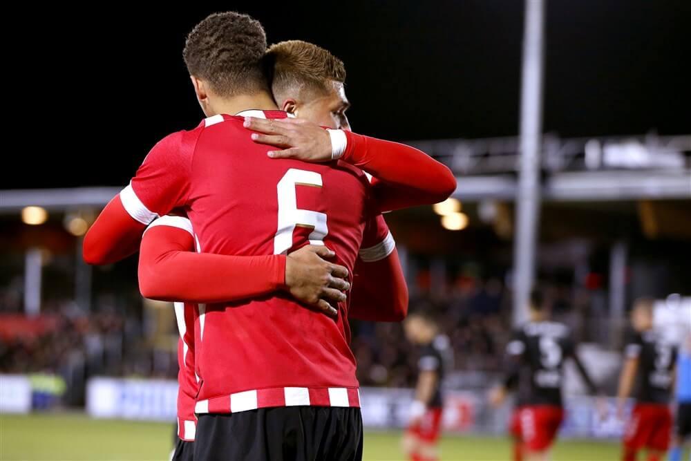 Jong PSV blijft bovenin meedraaien na winst tegen Jong FC Utrecht; image source: Pro Shots