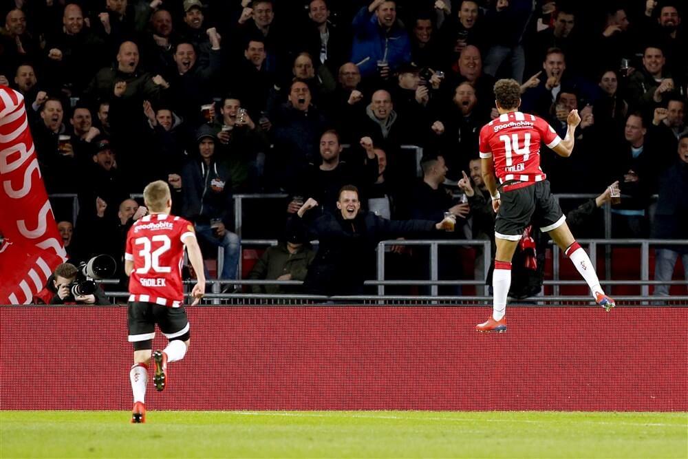 PSV wint wel, maar laat tegen NAC na aan doelsaldo te werken; image source: Pro Shots