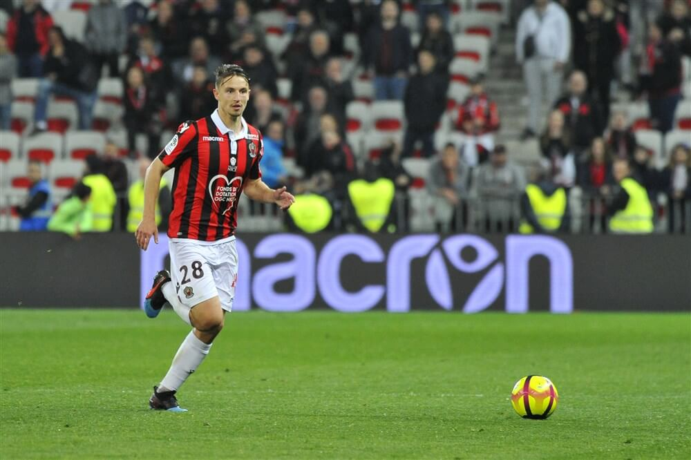 """PSV wil Boscagli van OGC Nice""; image source: Pro Shots"
