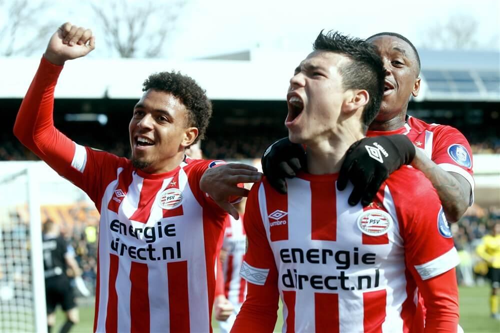 PSV speelt opnieuw zwak, maar wint dankzij Hirving Lozano in Venlo; image source: Pro Shots