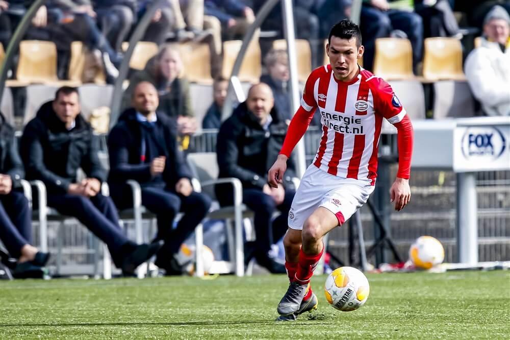 """""""Hirving Lozano opnieuw transferprioriteit van Napoli""""; image source: Pro Shots"""