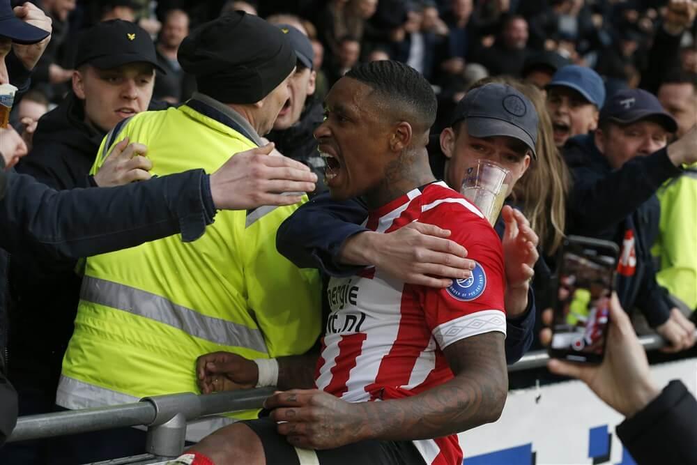 """Steven Bergwijn: """"Ik ben gelukkig bij PSV en ben door geen enkele club concreet benaderd; image source: Pro Shots"""