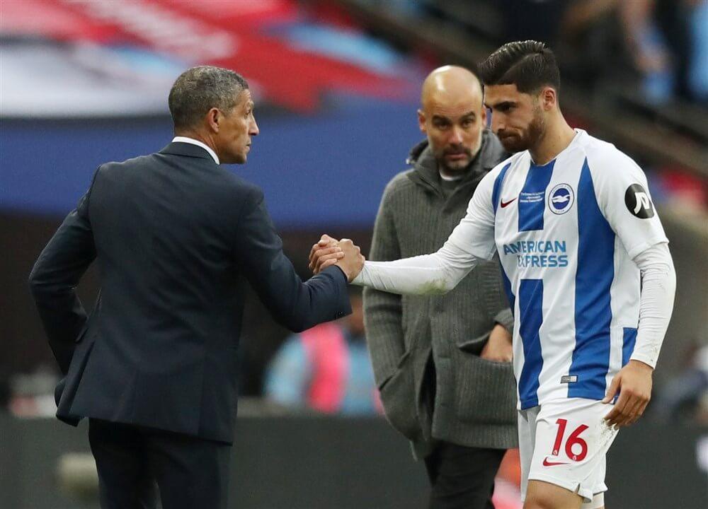 """""""PSV informeerde naar Alireza Jahanbaksh, aanvaller wil niet weg bij Brighton""""; image source: Pro Shots"""