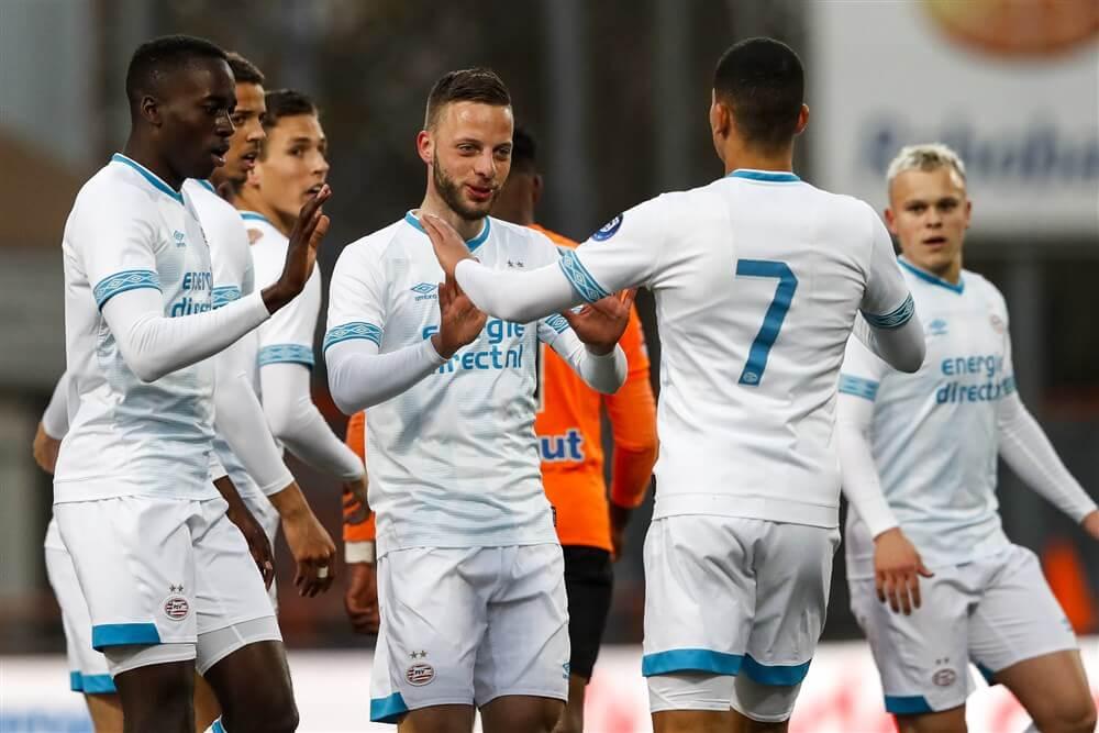 Jong PSV naar vierde plek na winst in Volendam; image source: Pro Shots