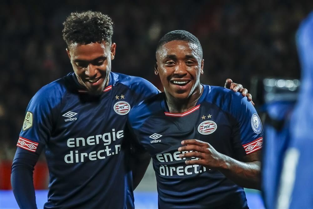"""""""Donyell Malen en Steven Bergwijn hervatten voorzichtig training bij PSV""""; image source: Pro Shots"""