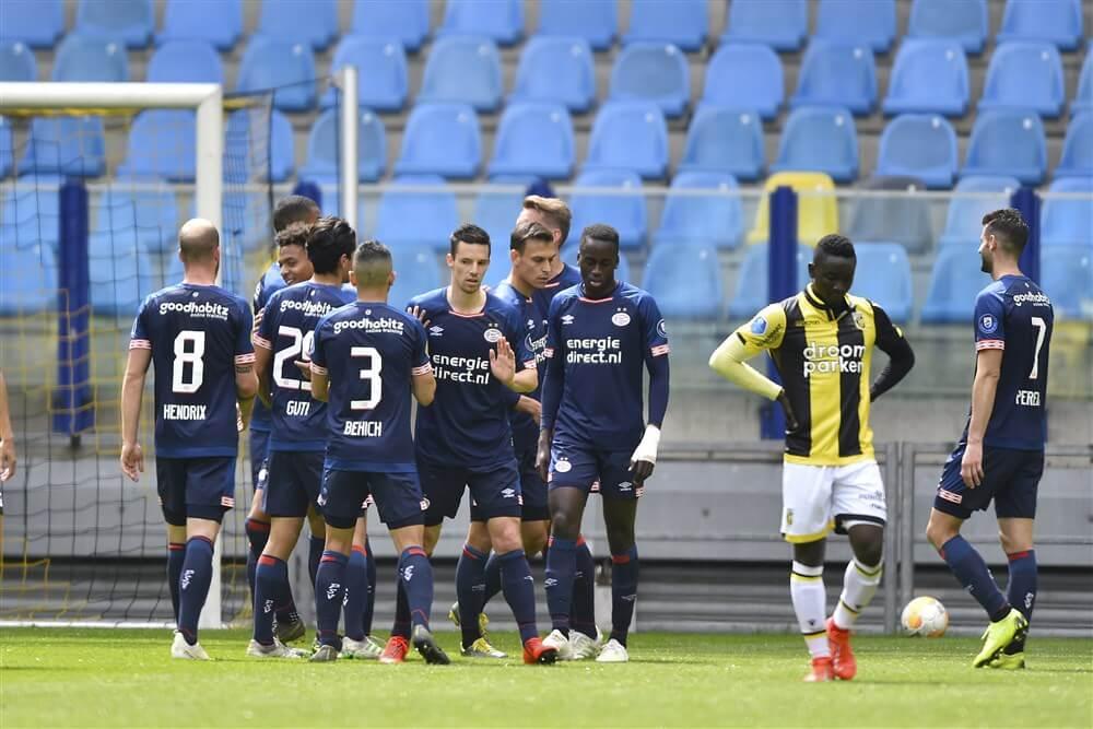 PSV haalt uit in besloten oefenwedstrijd tegen Vitesse; image source: Pro Shots
