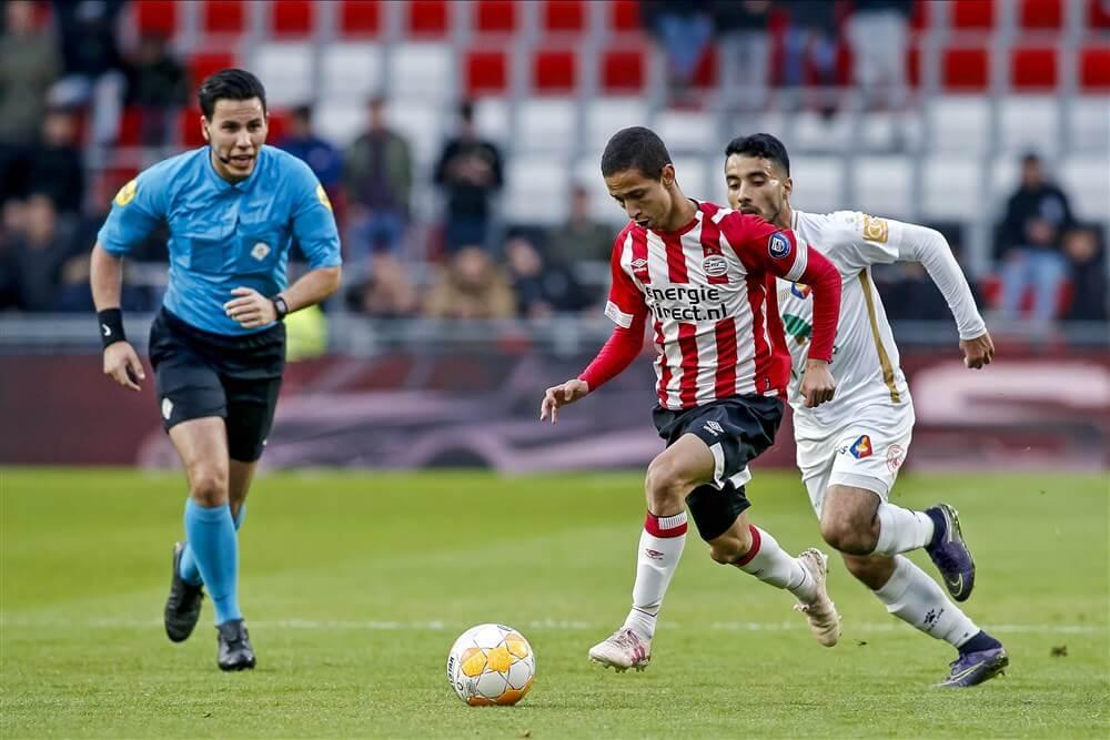 Jong PSV eindigt op derde plaats na winst tegen Telstar; image source: Pro Shots