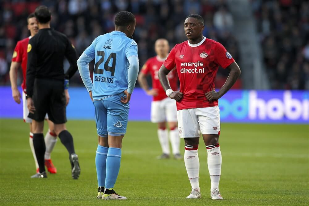"""Steven Bergwijn: """"Natuurlijk streelt de interesse van Ajax mij"""" ; image source: Pro Shots"""