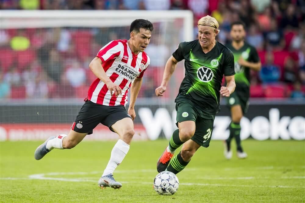 PSV verliest van VfL Wolfsburg; image source: Pro Shots