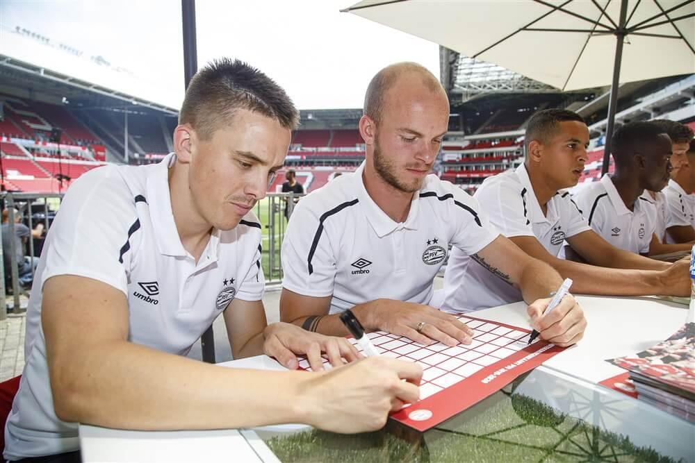 Ryan Thomas hervat groepstraining bij PSV; image source: Pro Shots