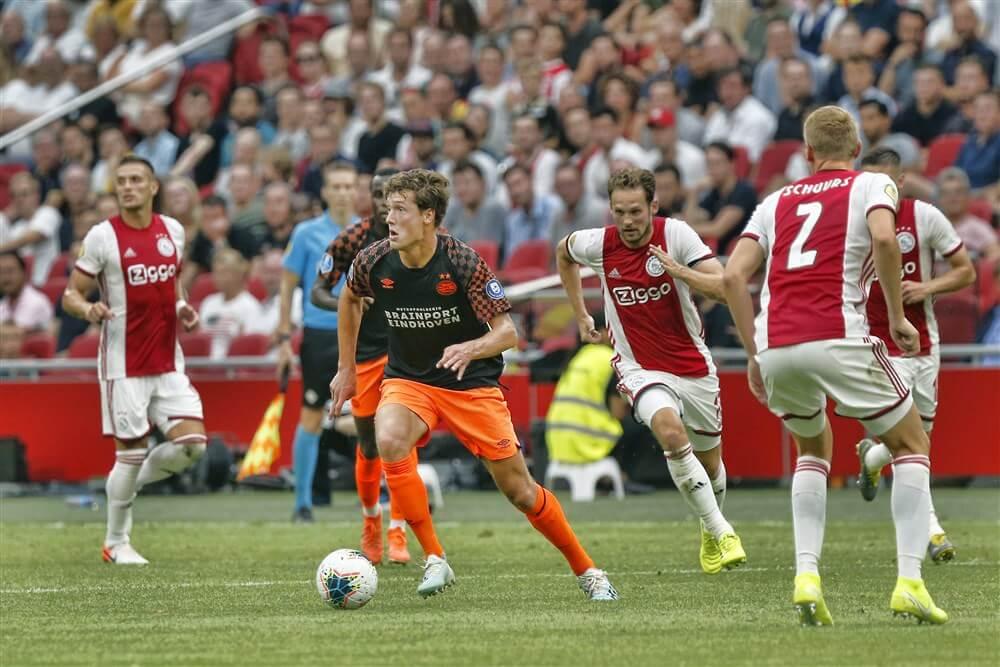 """PSV overweegt om nieuwe spits te halen vanwege blessure Sam Lammers""; image source: Pro Shots"
