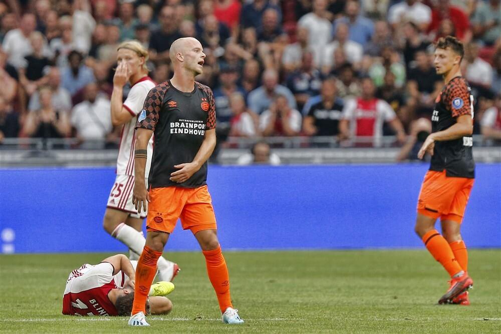 PSV onderuit in Amsterdam in strijd om Johan Cruijff Schaal; image source: Pro Shots