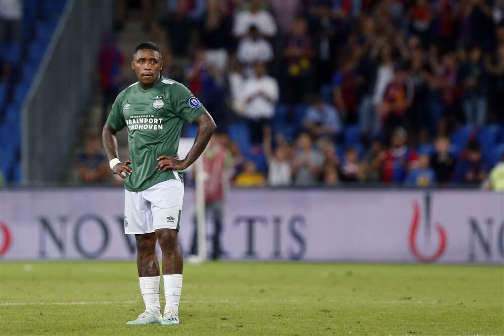 """""""PSV wijst bod van Sevilla van 25 miljoen euro op Steven Bergwijn af""""; image source: Pro Shots"""