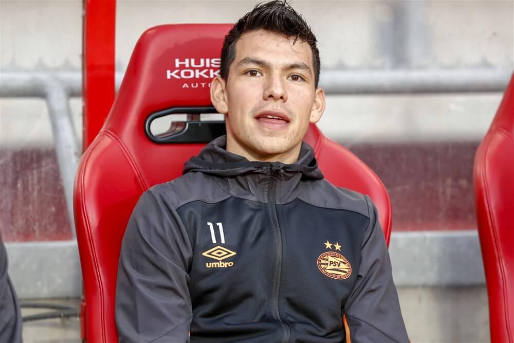 """""""PSV houdt zo""""n 35 miljoen euro over aan transfer Hirving Lozano""""; image source: Pro Shots"""