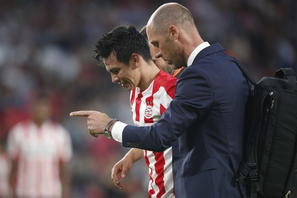 """Mark van Bommel: """"Blessure Hirving Lozano valt mee""""; image source: Pro Shots"""