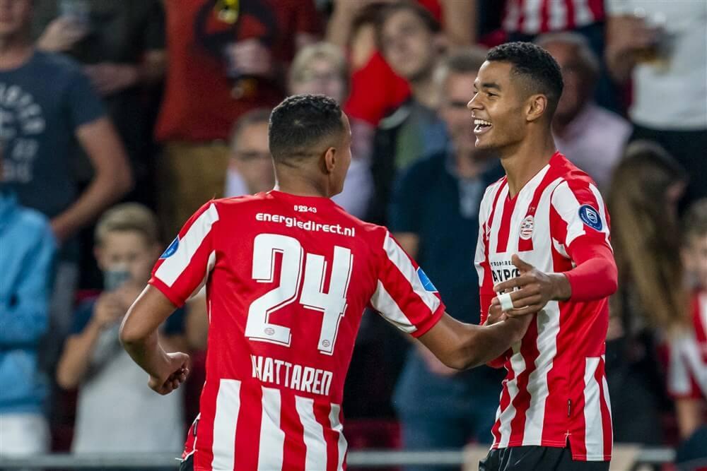 """""""PSV koerst af op contractverlenging Cody Gakpo""""; image source: Pro Shots"""
