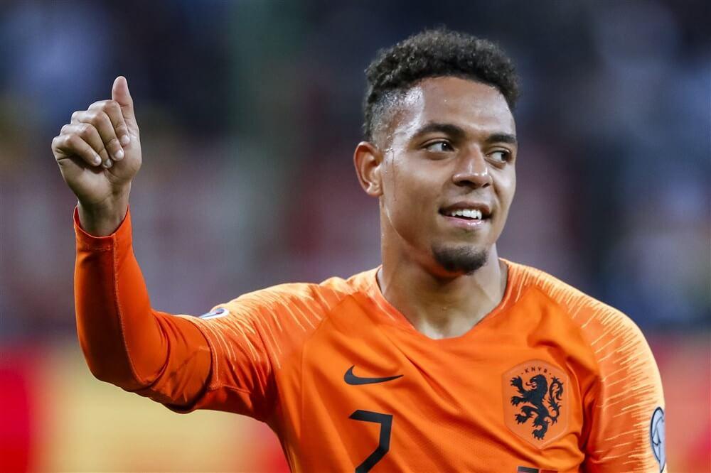 Dumfries, Bergwijn en Malen in selectie Oranje, Zoet vanwege blessure niet geselecteerd; image source: Pro Shots