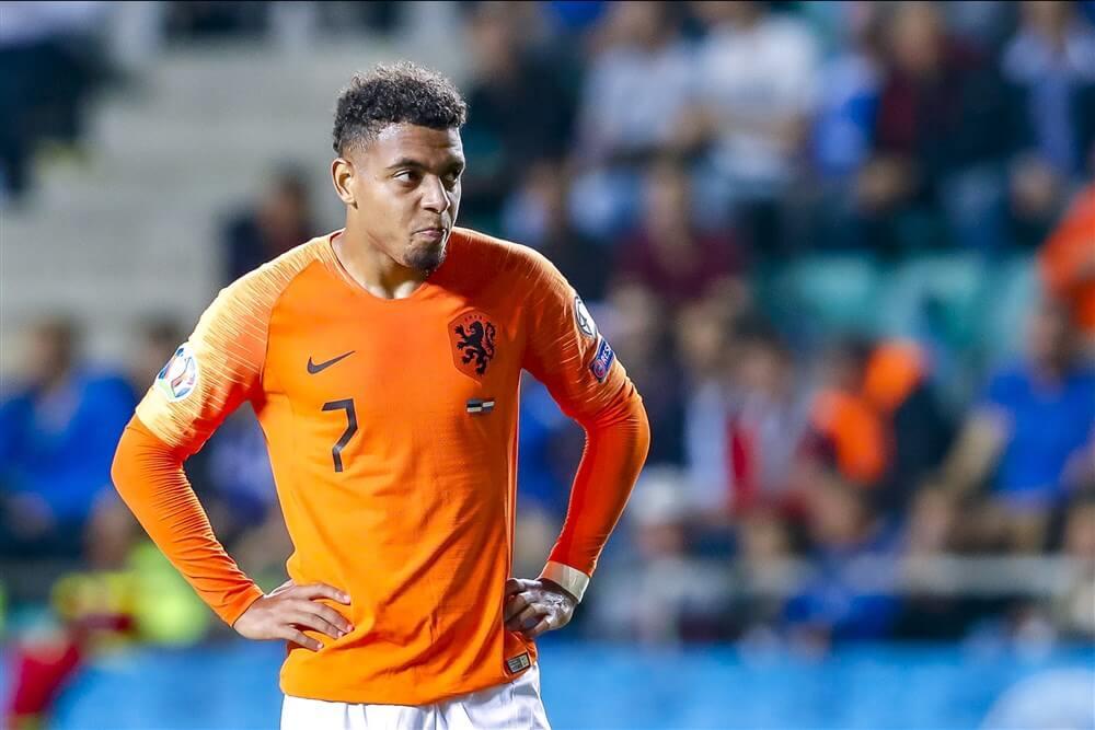Nederlands elftal met Donyell Malen veel te sterk voor Estland; image source: Pro Shots