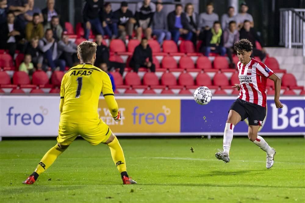 Eerste zege Jong PSV na glansrol Richard Ledezma; image source: Pro Shots