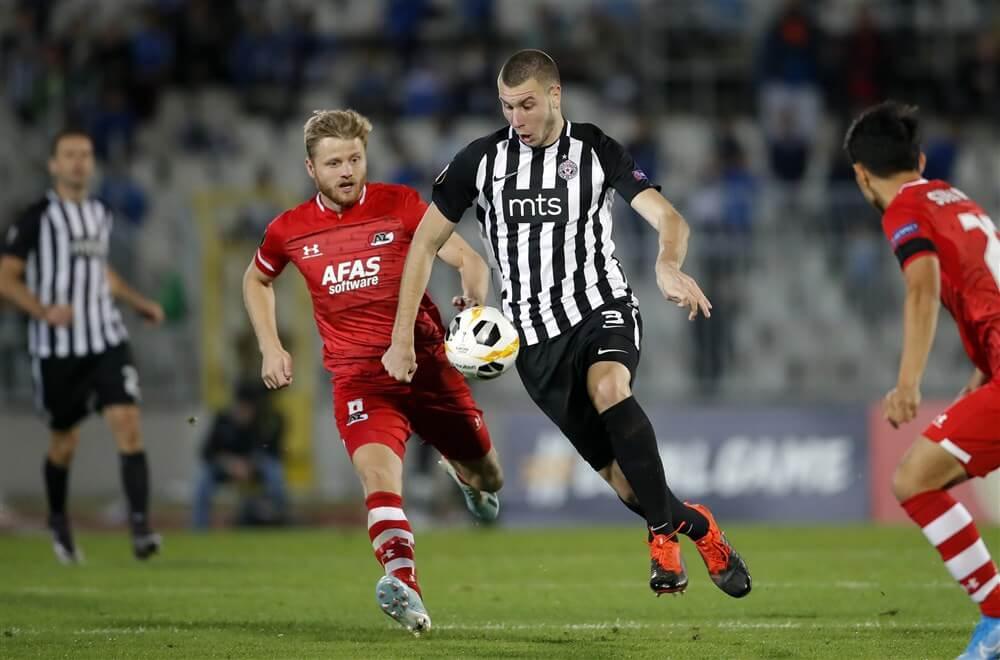 """""""PSV donderdag op de tribune voor Strahinja Pavlovic""""; image source: Pro Shots"""