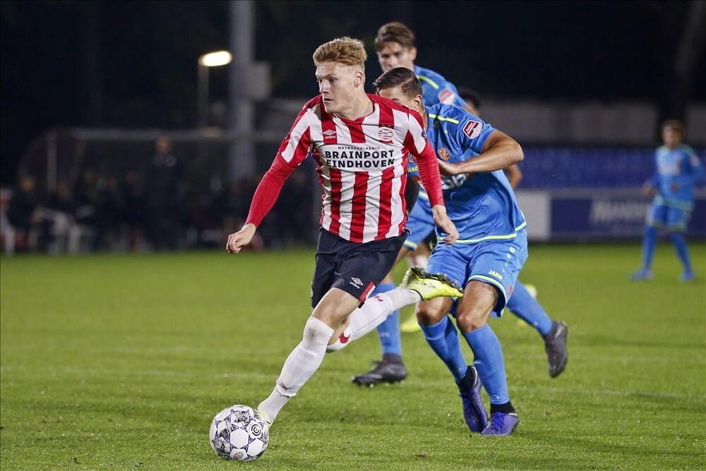 Jong PSV in eigen huis te sterk voor Volendam; image source: Pro Shots