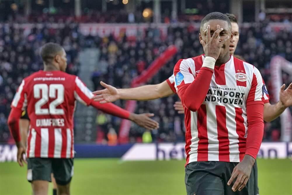 PSV in eigen huis ook te sterk voor VVV Venlo; image source: Pro Shots