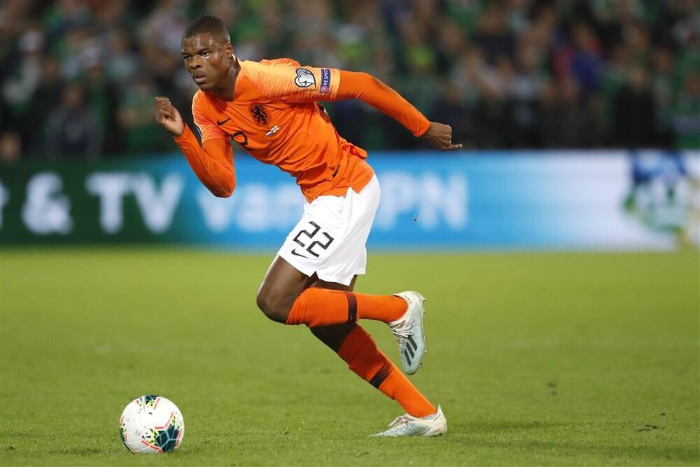 """Aad de Mos: """"Denzel Dumfries is wat mij betreft de nummer één rechtsback van het Nederlands elftal""""; image source: Pro Shots"""