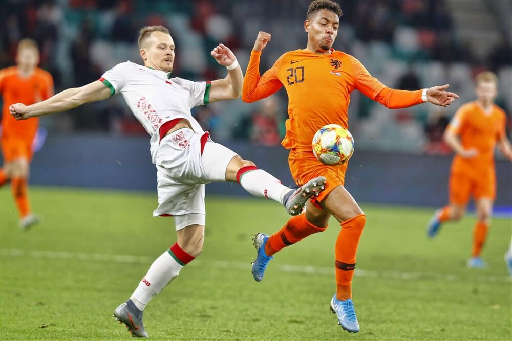 Donyell Malen en Steven Bergwijn winnen met Oranje van Wit-Rusland; image source: Pro Shots