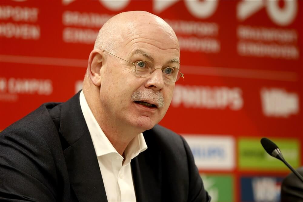 """Toon Gerbrands: """"Het is duidelijk dat we gezien de resultaten een issue hebben bij PSV""""; image source: Pro Shots"""