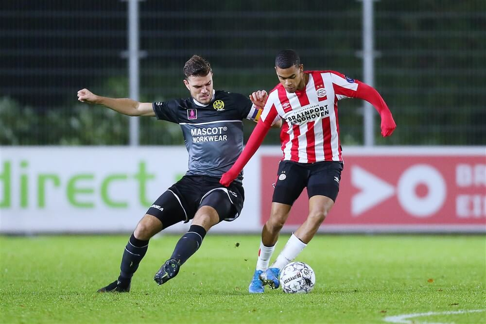 Jong PSV in eigen huis gelijk tegen Roda JC; image source: Pro Shots