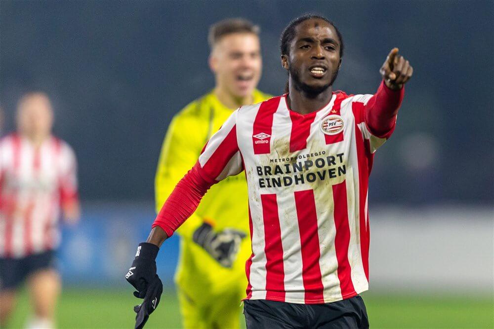 Jong PSV in blessuretijd gelijk tegen Telstar; image source: Pro Shots