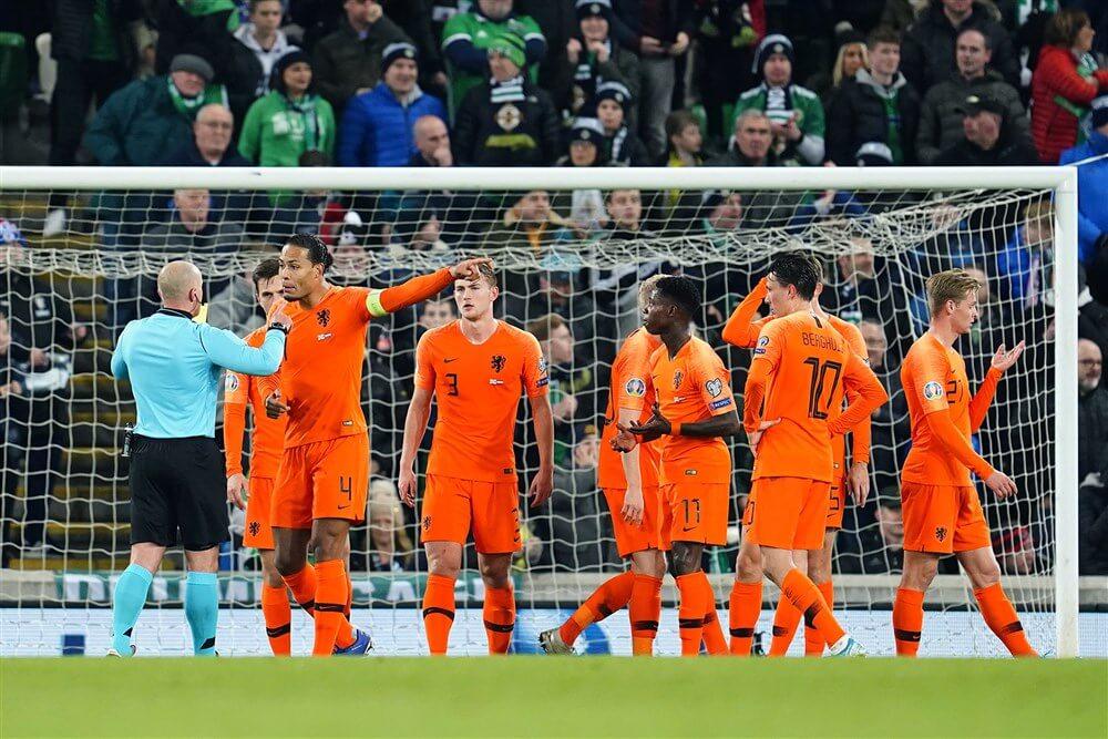 """Teleurstellend Oranje zonder PSV""""ers gelijk tegen Noord-Ierland en zeker van EK; image source: Pro Shots"""